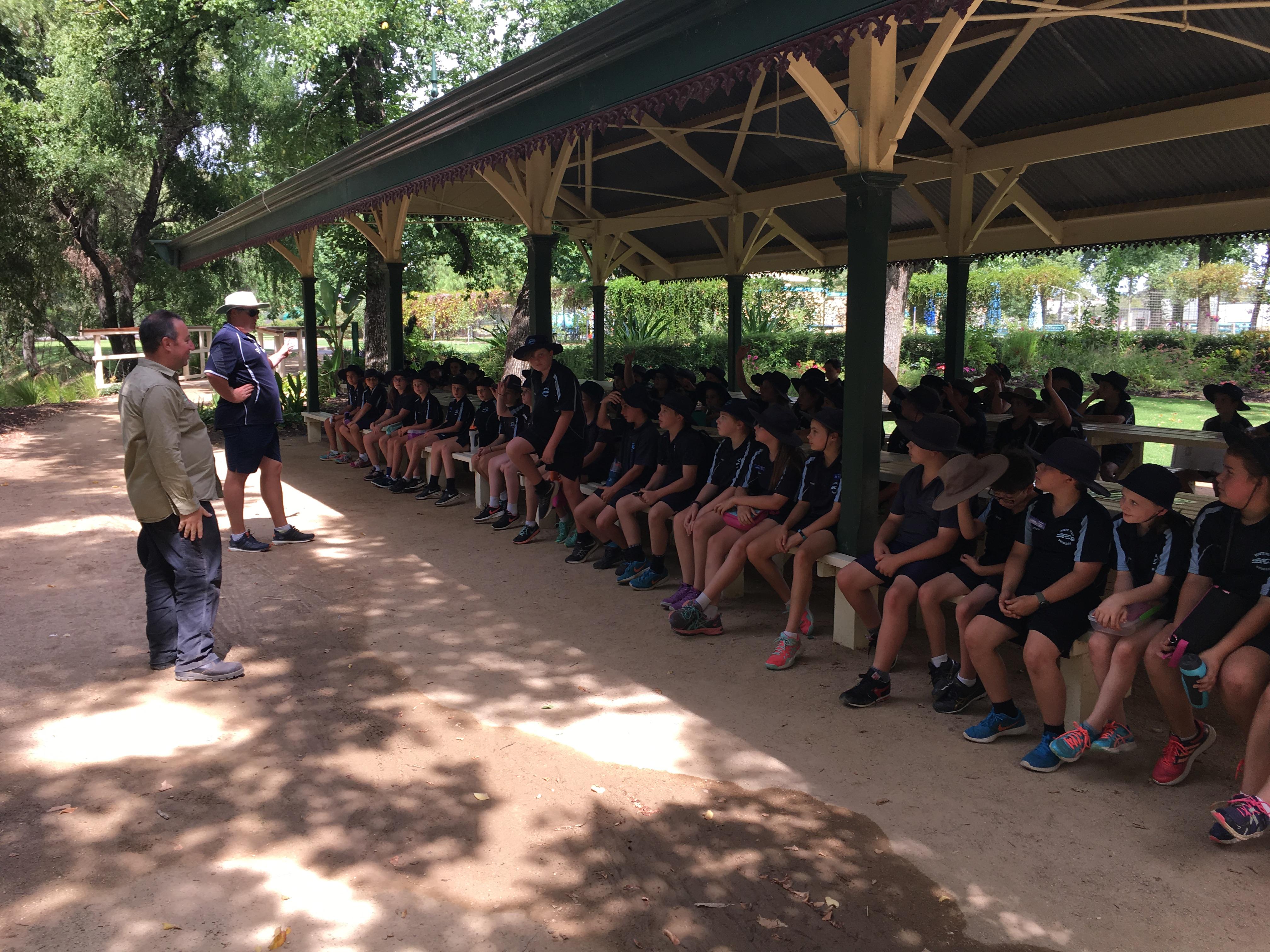 Bendigo Botanic Gardens tour